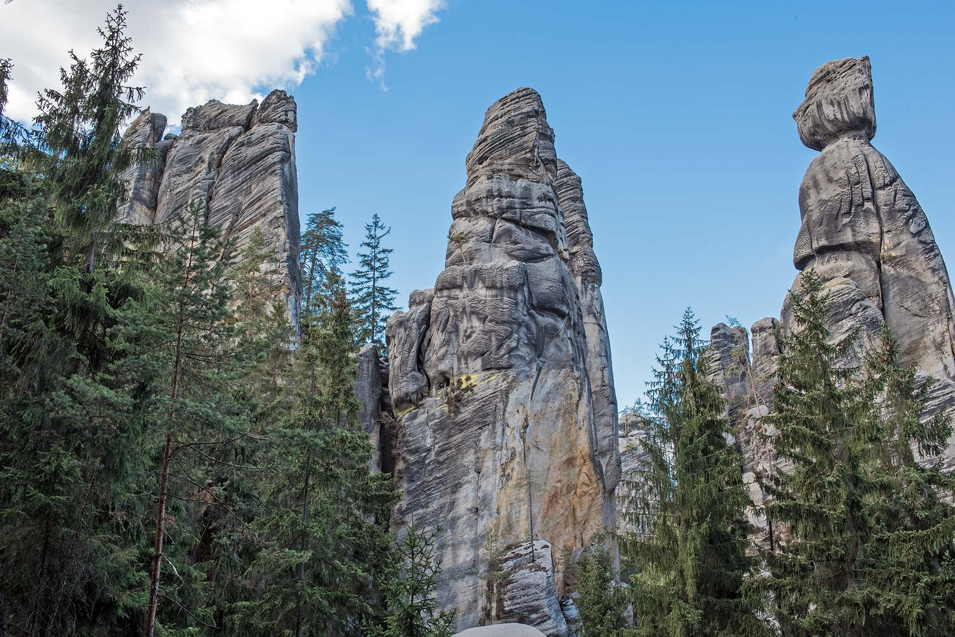 Skalní věže