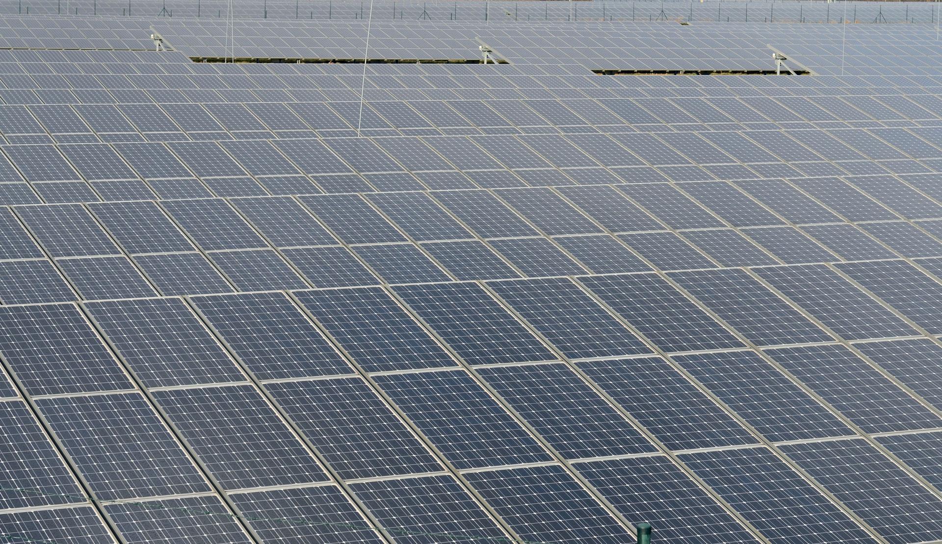 Pole fotovoltaické