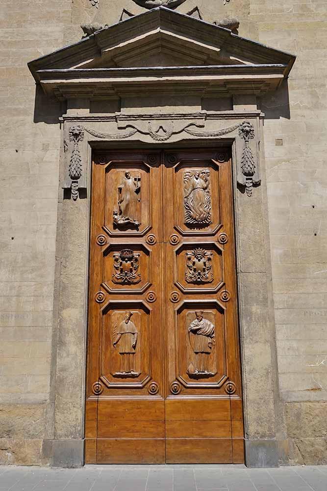 Itálie, Florencie, Basilica di Sancta Trinita