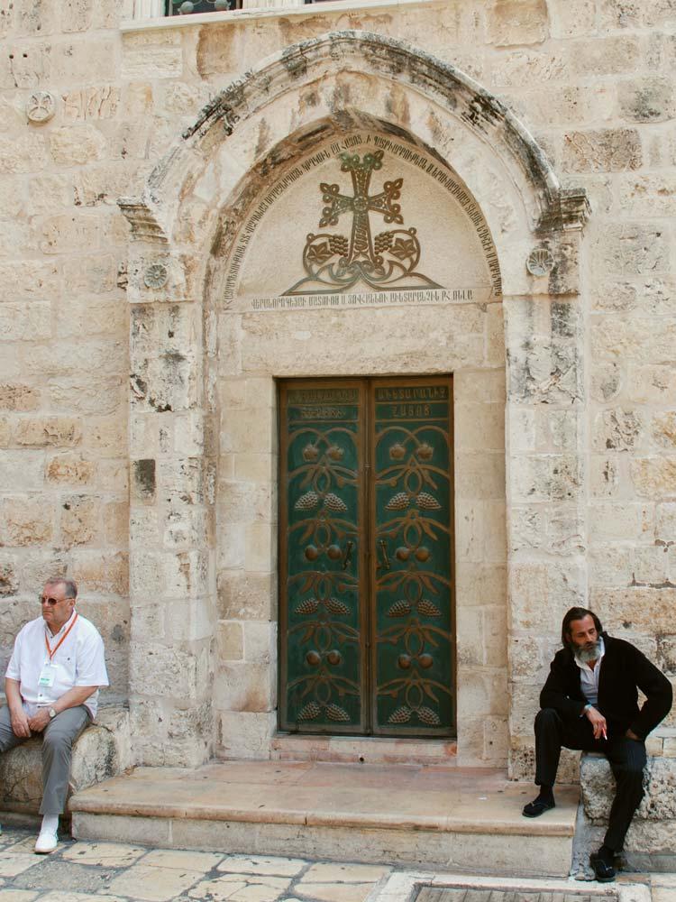 Jeruzalém, chrám Božího hrobuu
