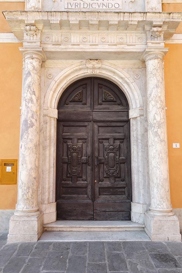 Itálie, Pisa, Piazza dei Cavalieri