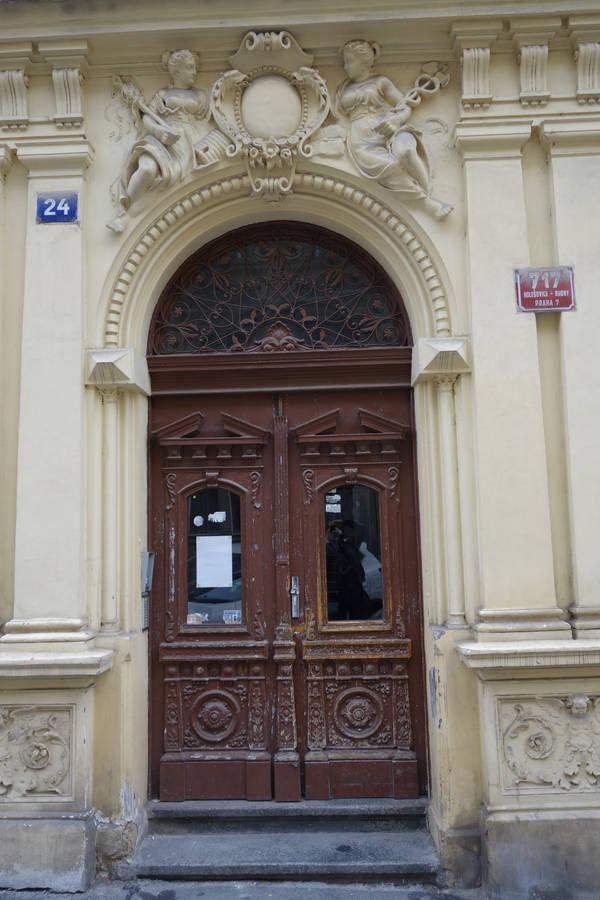 Praha, Holešovice, Dobrovského
