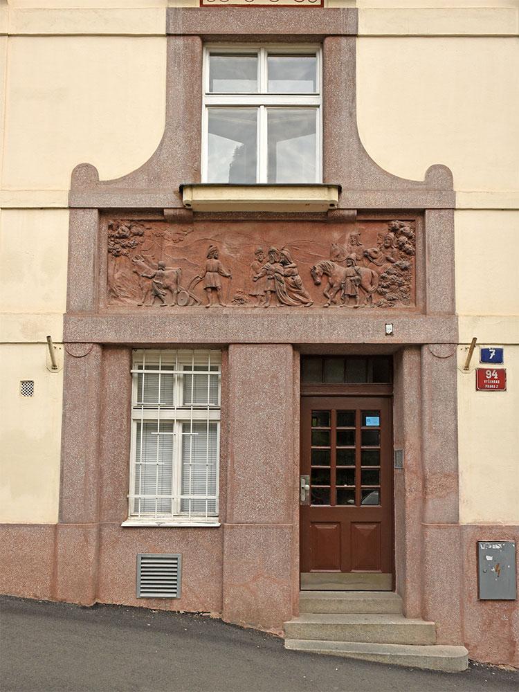 Praha,  Vyšehrad, Přemyslova