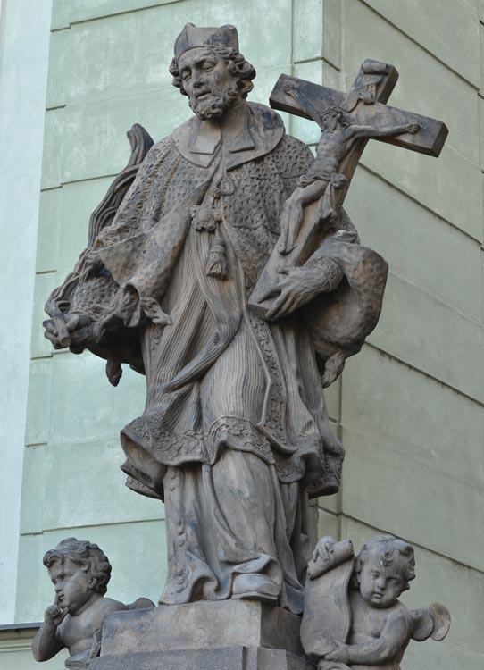 Praha, Hradčany, úpatí Radničních schodů