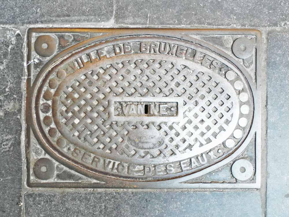 Service des eaux, Ville de Bruxelles