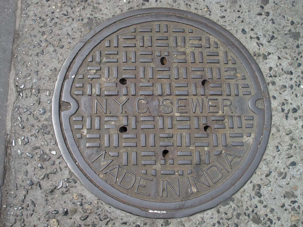 New York City Sewer, Made in India