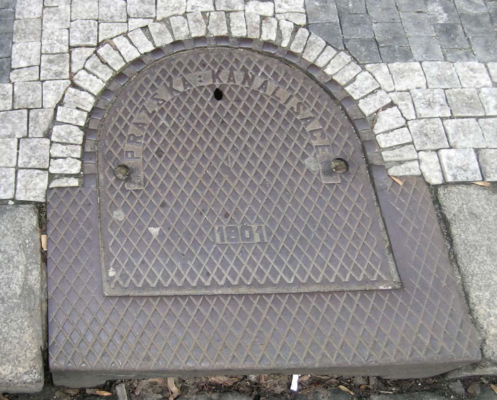 Pražská kanalisace 1901