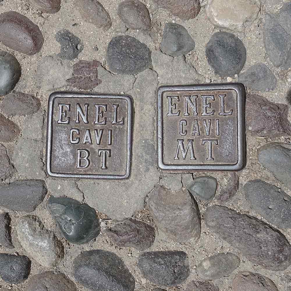 Sardinie, ENEL cavi BT/MT