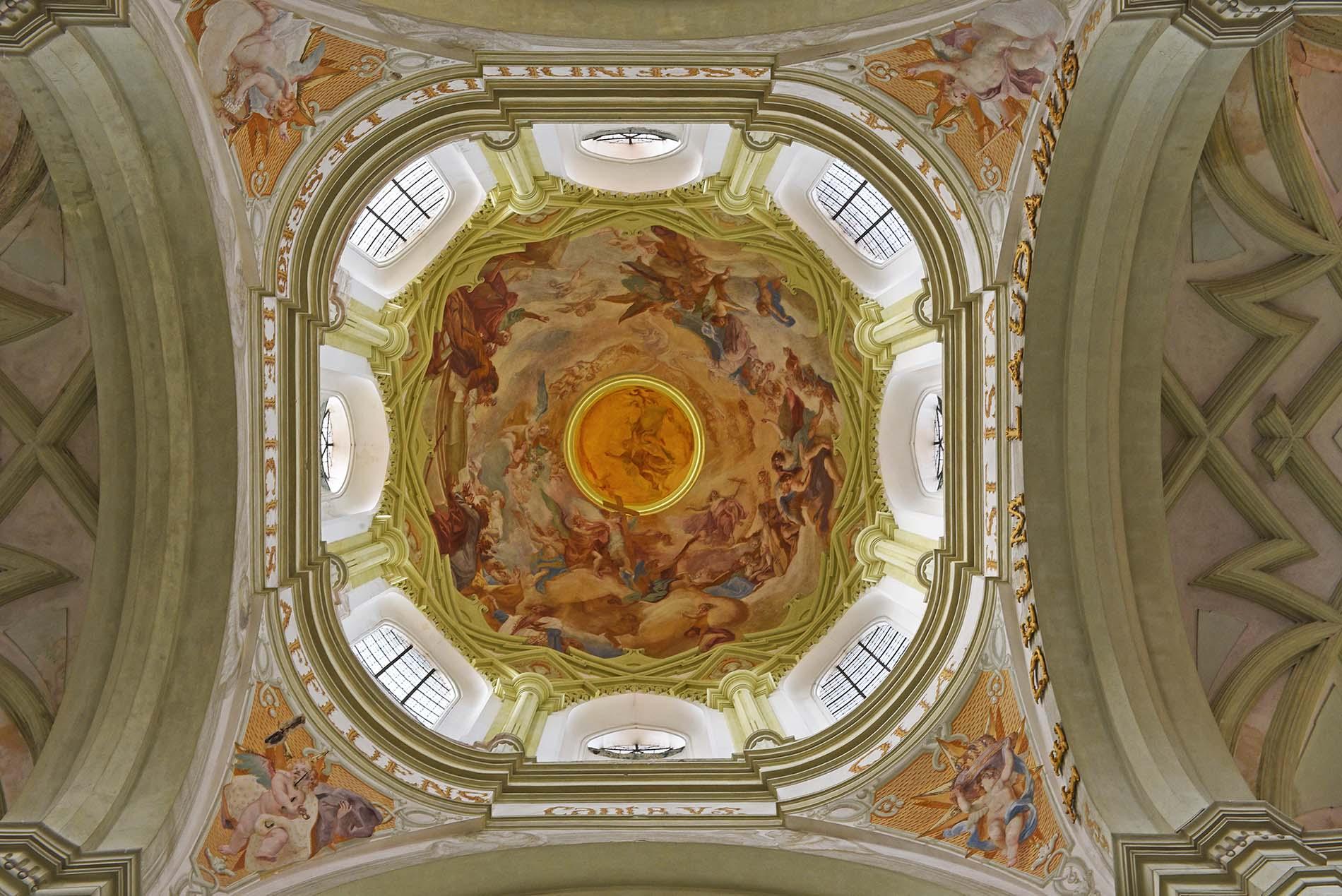 Kladrubský klášter, kostel Nanebevzetí Panny Marie