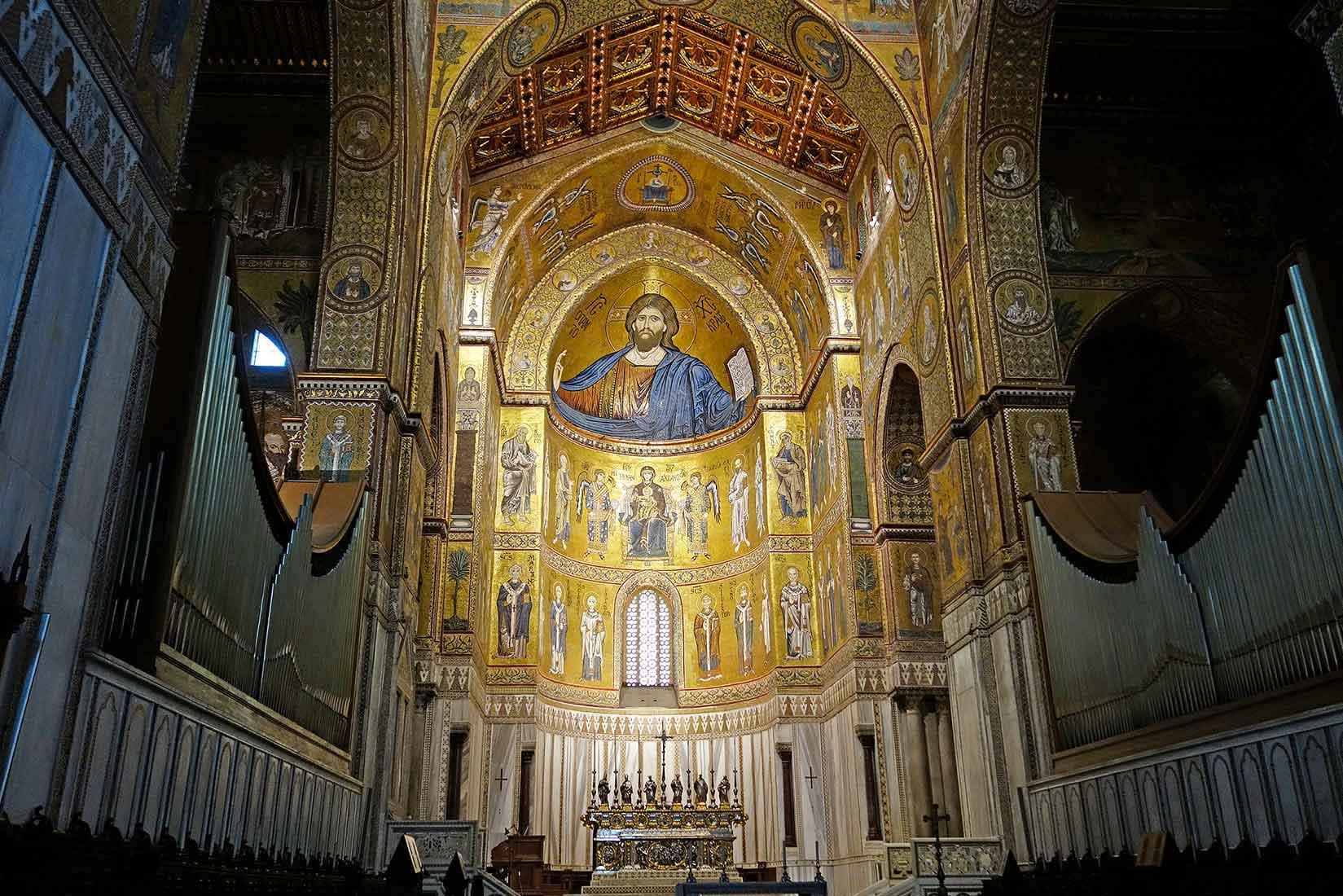 Sicilie, Monreale, katedrála