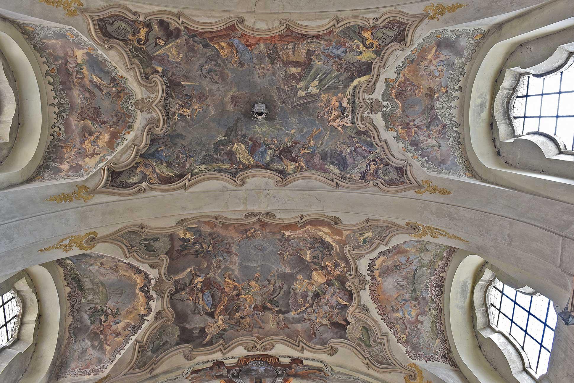 Střibro, děkanský kostel Všech svatých