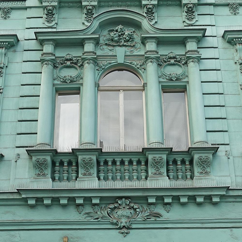 Ostrava, Zámecká ul.