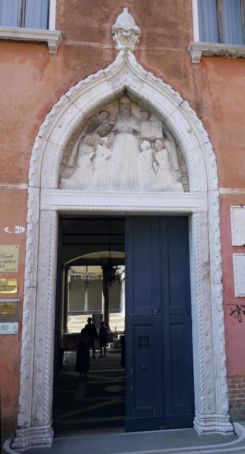 Benátky, bývalý konvent Santo Stefano