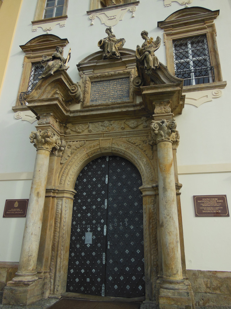 Olomouc, Svatý Kopeček, poutní chrám