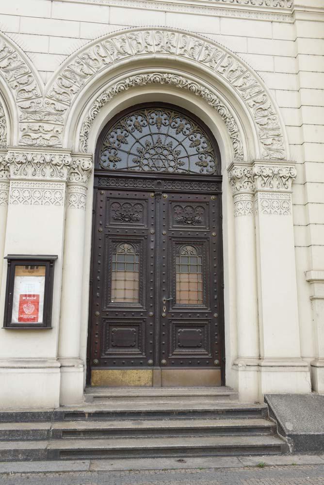 Plzeň, Klatovská tř., synagoga