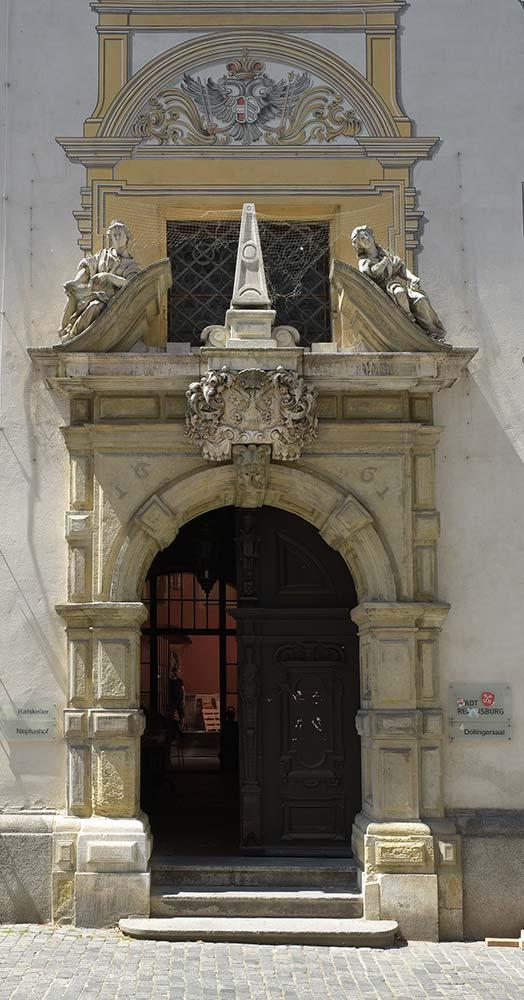 Regensburg, Altes Rathaus