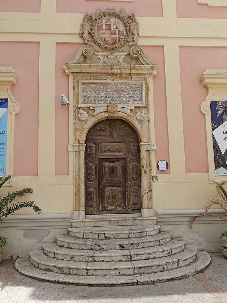 Sardinie, Cagliari, stará radnice