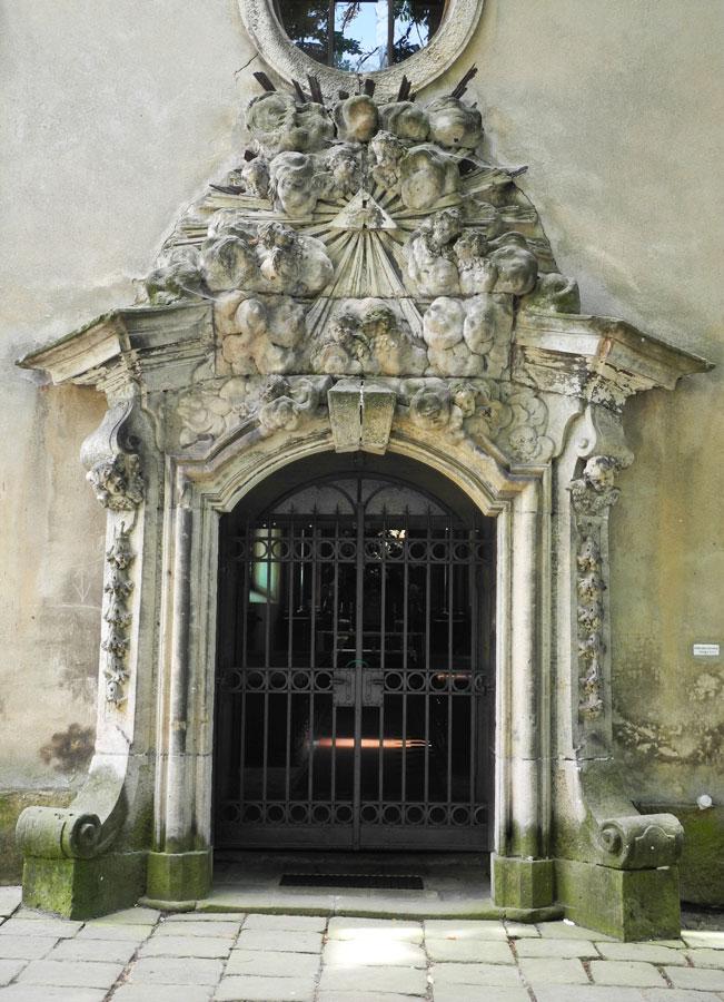 Žacléř, kostel Nejsvětější Trojice