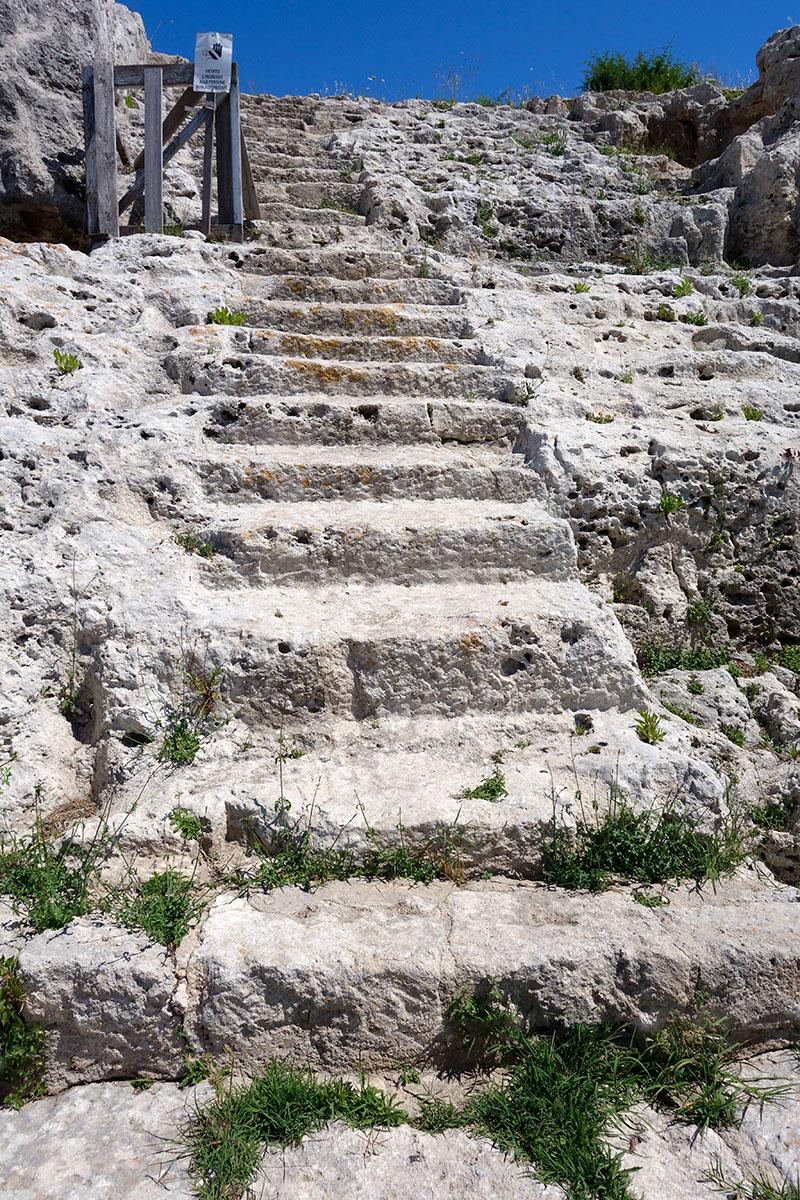 Sicilie, Siracusa, řecké divadlo