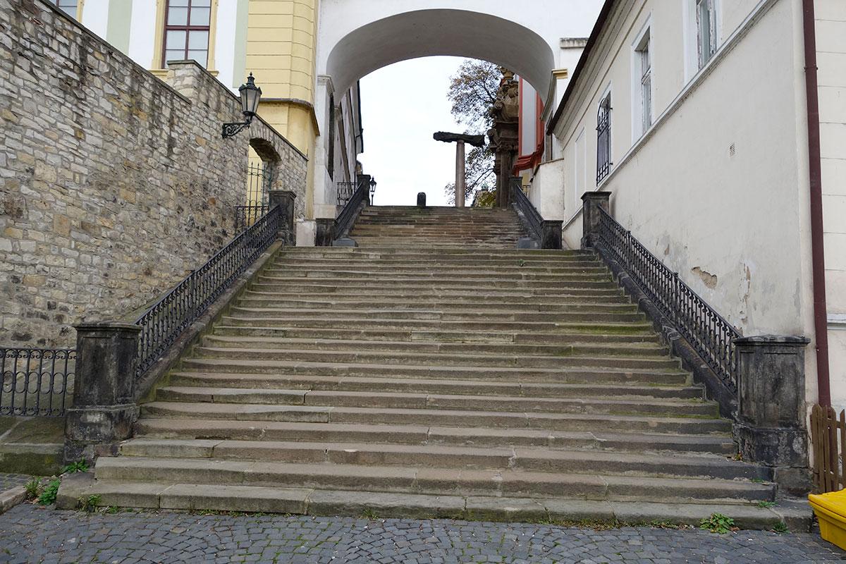 Litoměřice, Jezuitské schody