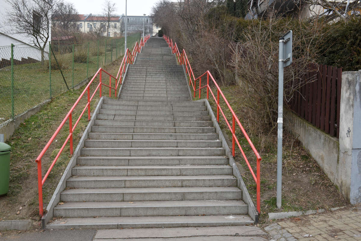Praha, Podolské schody