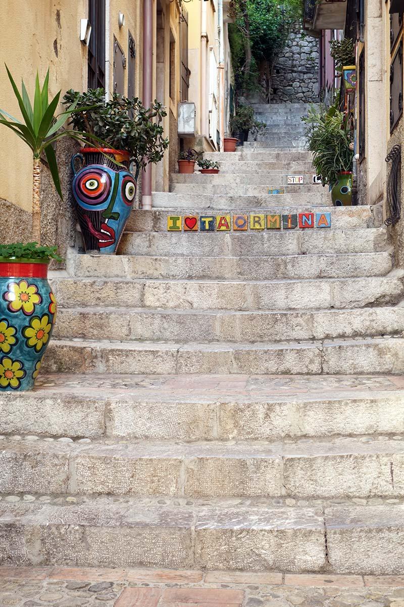 Sicilie, Taormina