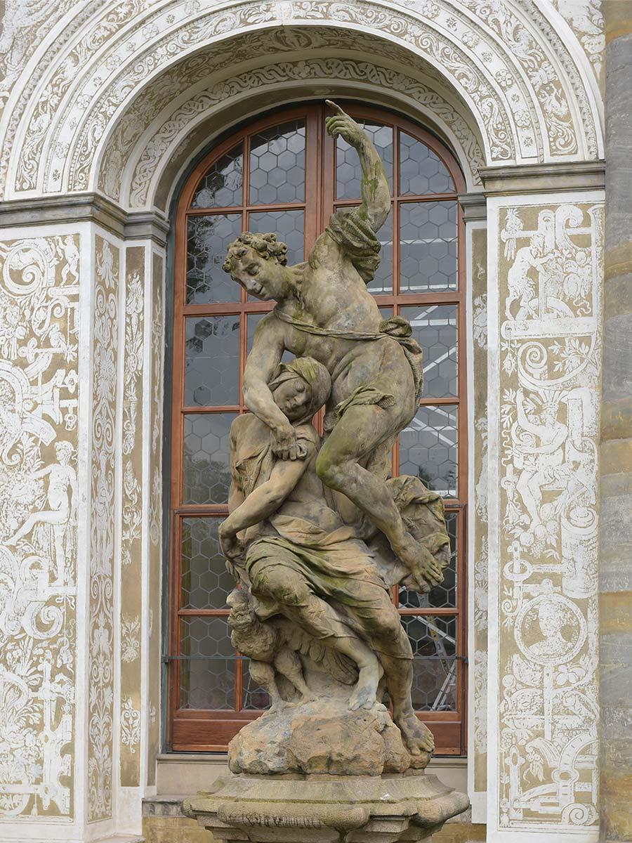 Alegorie Noci, Praha