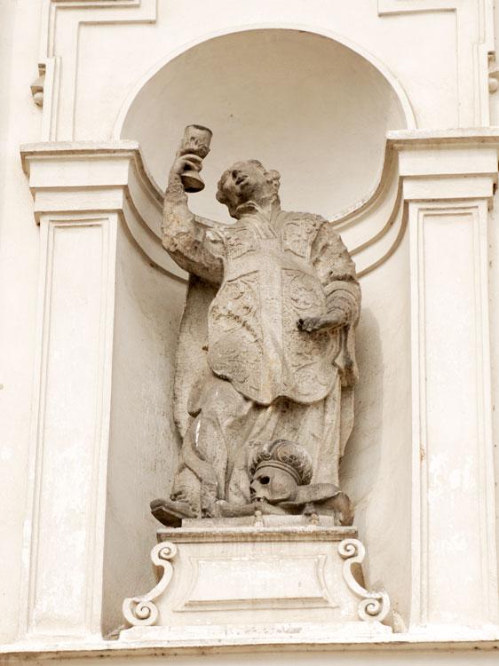 Klatovy, sv. František Borgia