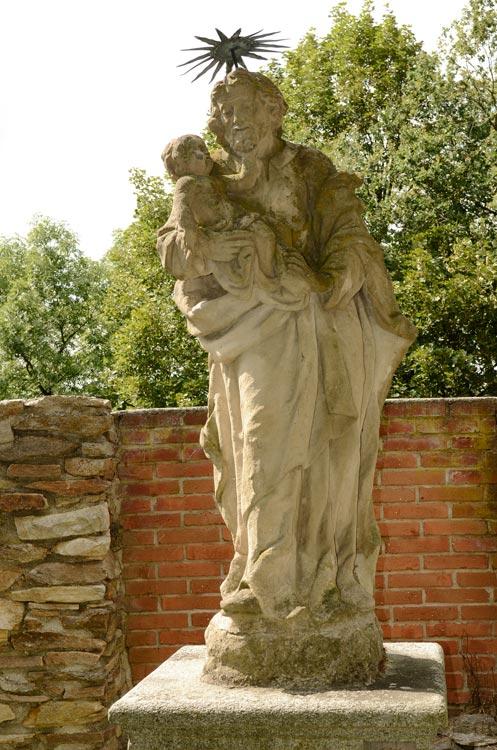 Klenová, sv. Josef