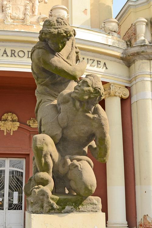 Praha, Výstaviště, Anděl a ďábel