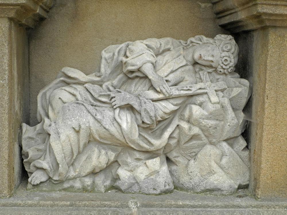 Telč, sv. Rosálie